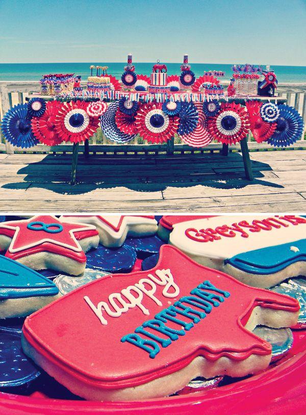 Greyson for President} Patriotic Birthday Party