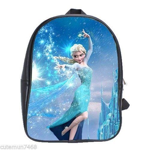 Brand New Frozen Elsa School Bag Backpacks X-Large (XL) Size