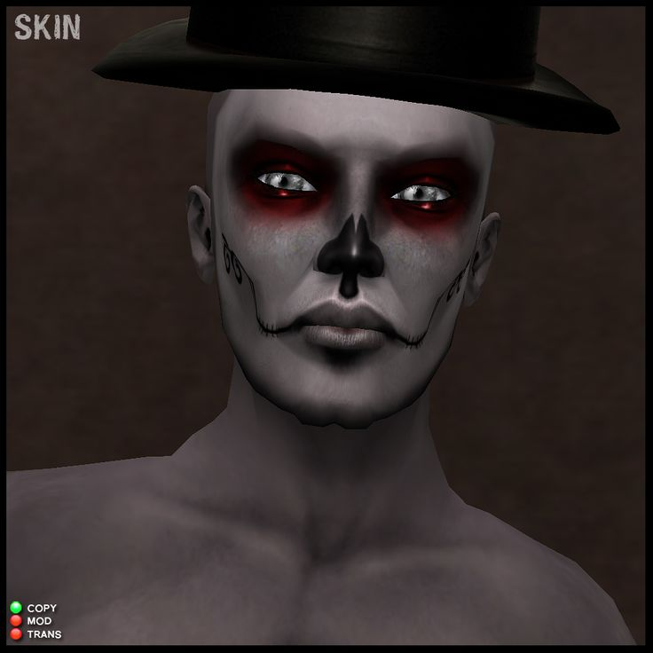 day of the dead makeup for males