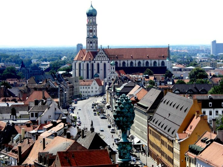 Augsburg, Germany.  This is where I spent my first 3 years of high school with 199 other students.