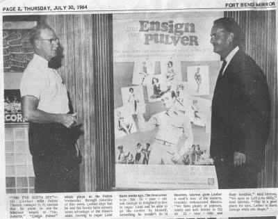Houston Weatherman, Sid Lasher.......