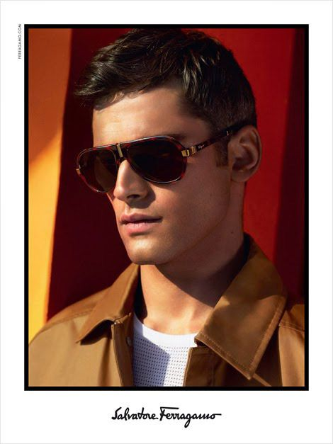 Sean O'Pry fronts the Spring/Summer 2014 campaign of Salvatore ...