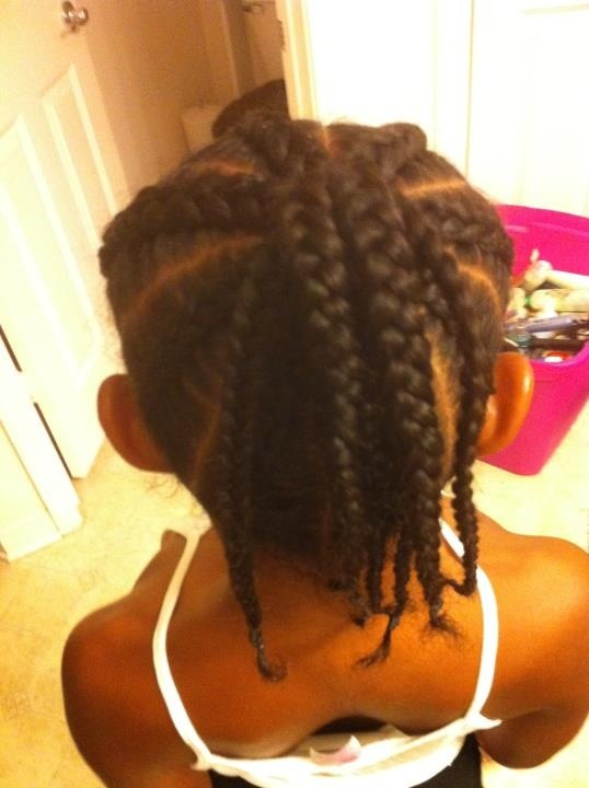 brandy norwood hairstyles : ... it simple back view Hairstyles/braids for kids and adults Pi