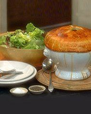 Chicken Potpies with Puff Pastry | Recipe