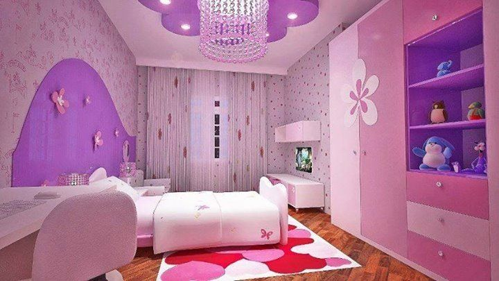 Purple and pink girls room sara 39 s pink and my little pony corner - Pink and purple bedrooms for girls ...