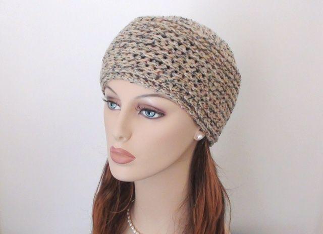 Crochet Pattern Ladies Hat : Crochet hat ladies size... free pattern crochet Pinterest