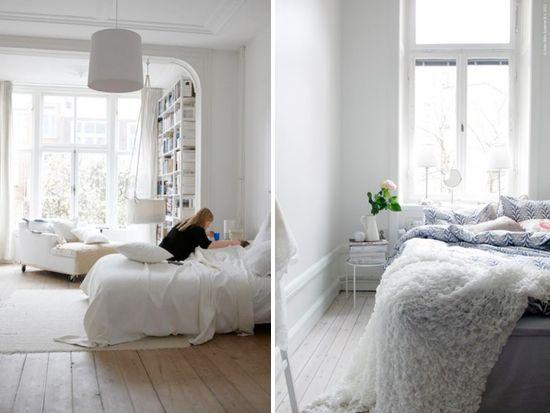 open white airy bedroom dream home pinterest