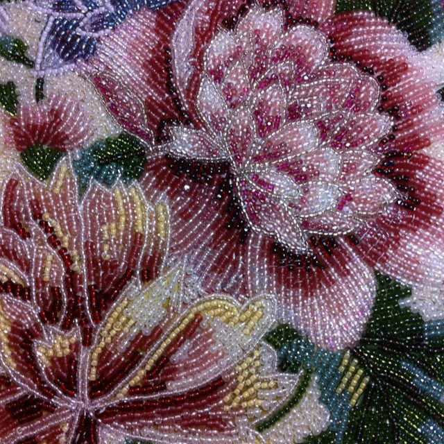 glass bead embroidery ideas