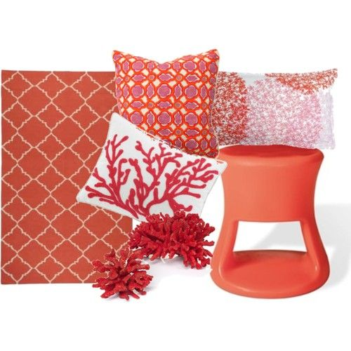 Coral Decor I Predict That This Pinky Coral Verging On Red Is Going