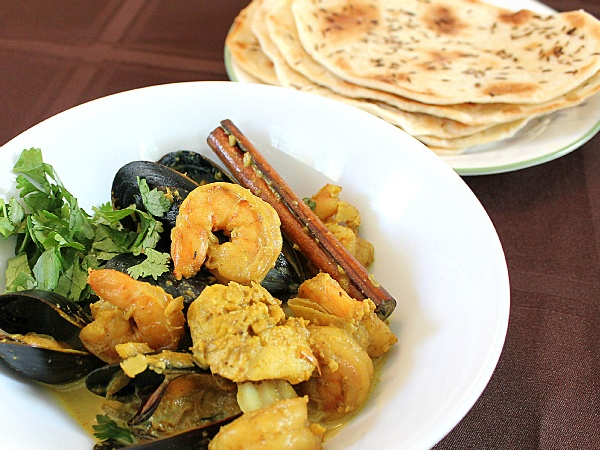 Seafood Curry Indian Style | Under the Sea | Pinterest