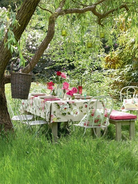 Vintage garden party my-style