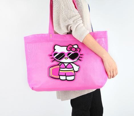 KAWAII ☯★☮ Hello Kitty Mesh Tote Bag: Shades