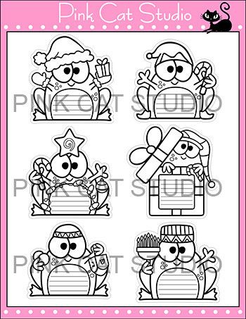Christmas, Hanukkah & Kwanzaa Frogs Writing Activity and Bulletin Boa ...