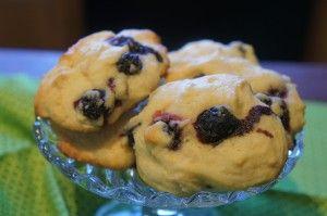 almond blueberry cookies | Cookies | Pinterest