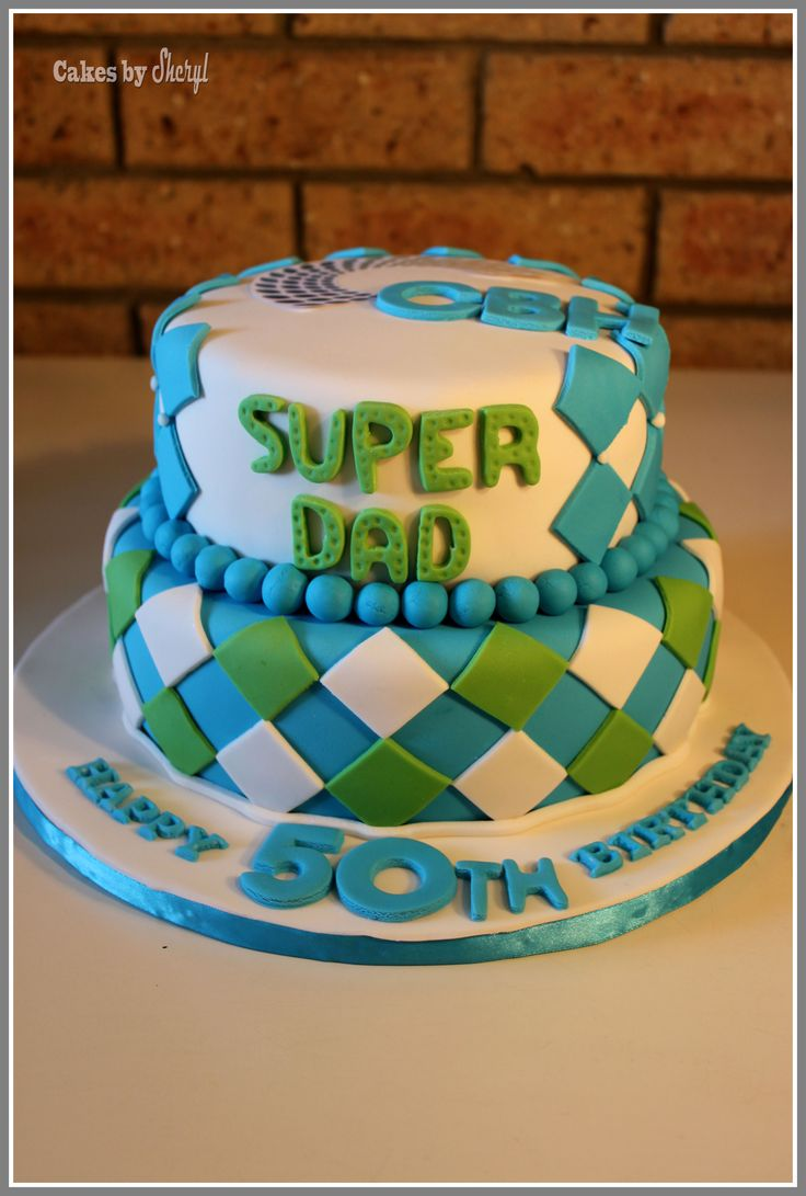 father's day cake decorating ideas