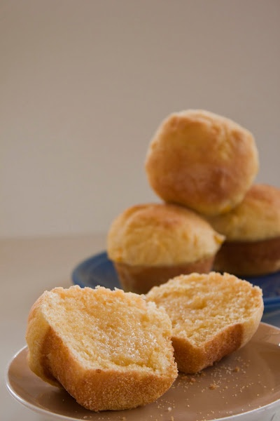 Yeast Raised Cornbread Rolls - new twist on classic cornbread.