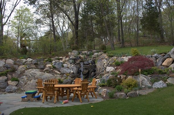 Hill Backyard : Waterfall for backyard hill  Outdoor Spaces  Pinterest