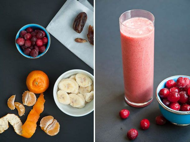 From the Blender: Mellow Cranberry Smoothie | Recipe