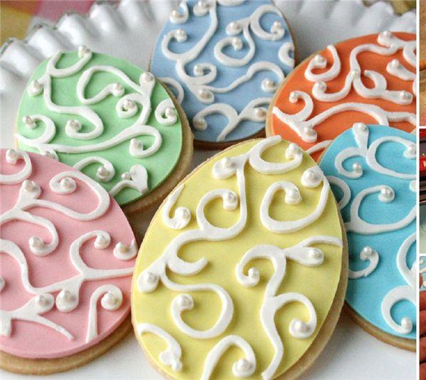 Easter Egg Cookies   Oh No Cricut!   Pinterest
