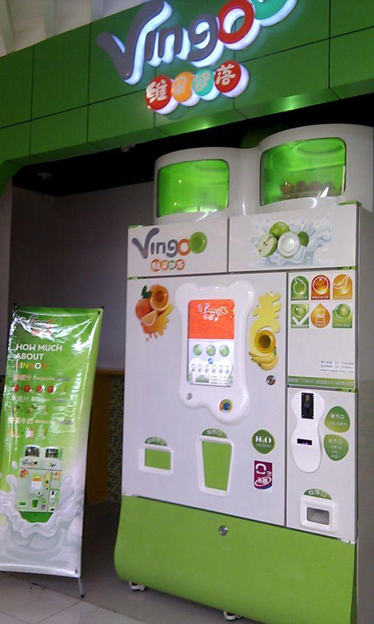 fruit vending machine uk