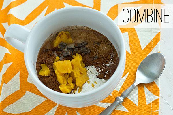 Vegan Pumpkin Mug Brownie | Recipe