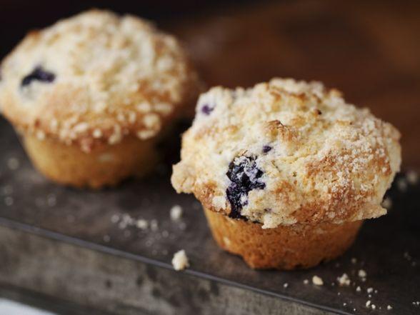 Matt's Lemon Blueberry Muffins