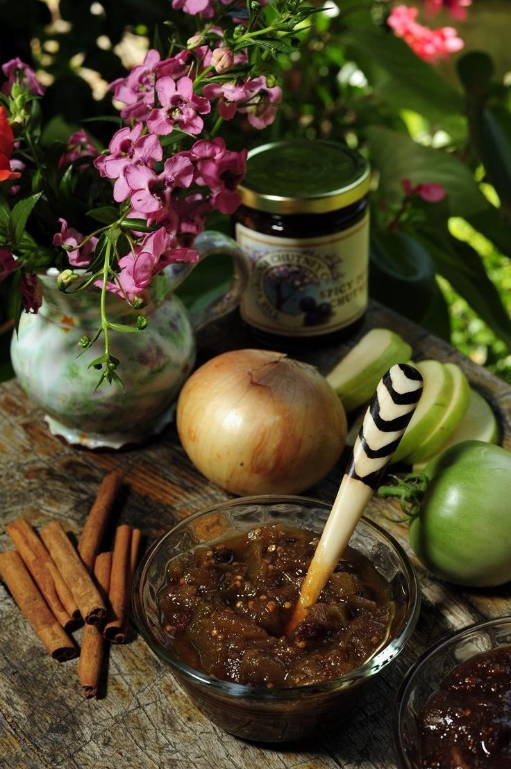 Green Tomato-Apple Chutney Recipes — Dishmaps