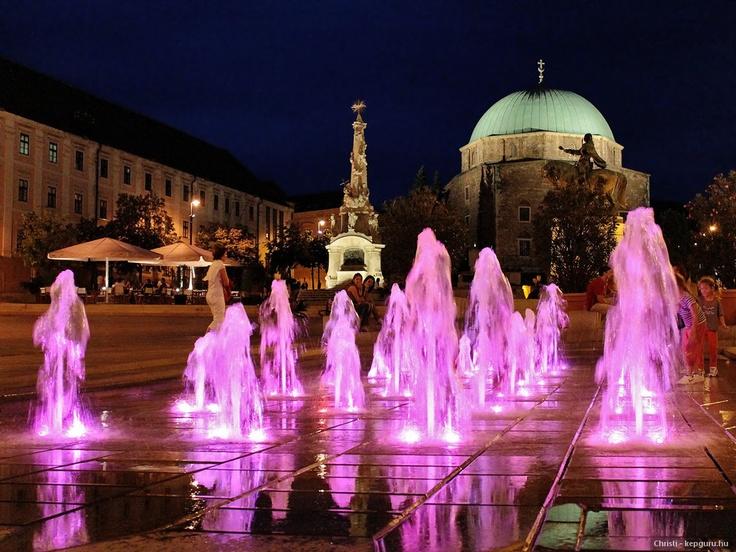 Széchenyi tér, Pécs, Hungary