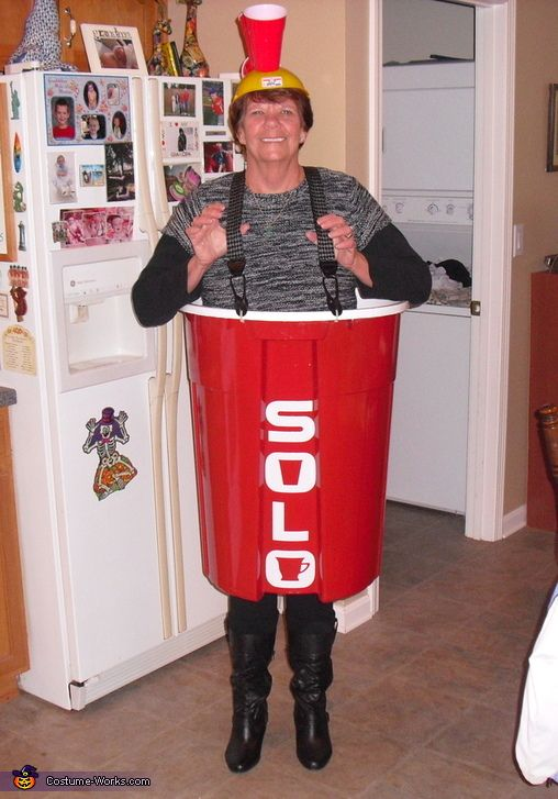 Red Solo Cup Halloween Costume Diy Red Solo Cup Halloween