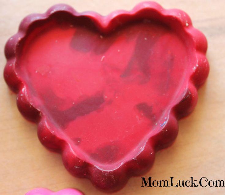 valentine's day crayon hearts