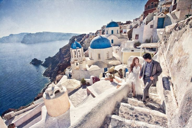 steps for photos | Santorini wedding | Pinterest: pinterest.com/pin/296041375478271815