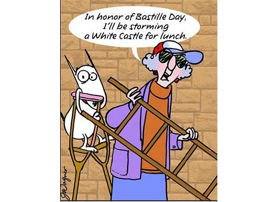 bastille day strange facts