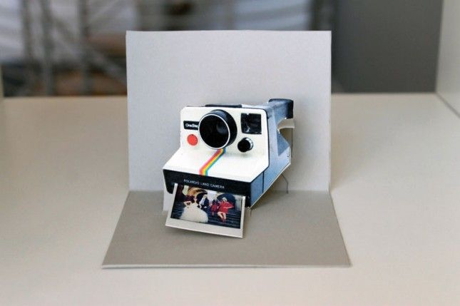 Polaroid Pop-Up Cards