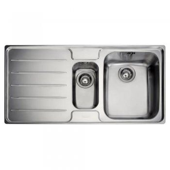 Franke Laser Sink : Franke Laser 1.5 Bowl Silk Stainless Steel Kitchen Sink & Waste LSX651 ...
