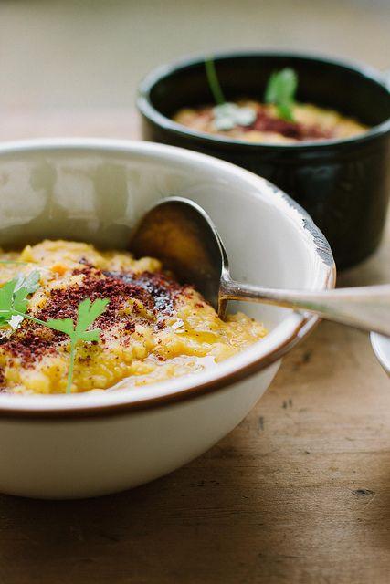 Creamy Split Pea, Carrot, Sumac Soup {vegan} | My Darling Lemon Thyme