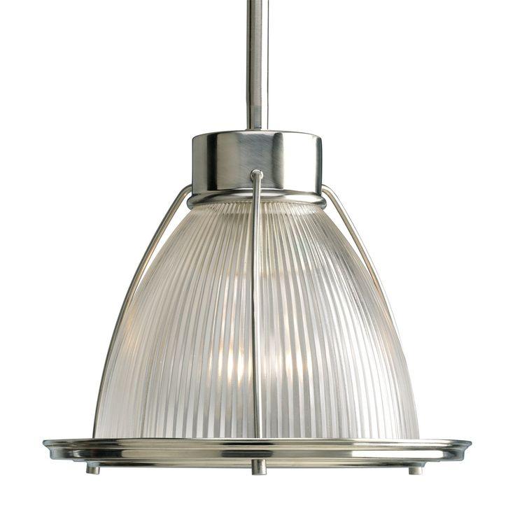 progress lighting p5163 09 kitchen mini pendant brushed