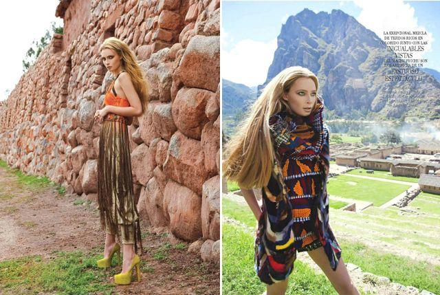 Even high fashion is loving Peru!