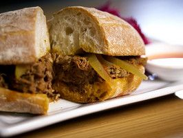 pulled-lamb-sandwich | Soups, Salads and Sandwiches | Pinterest