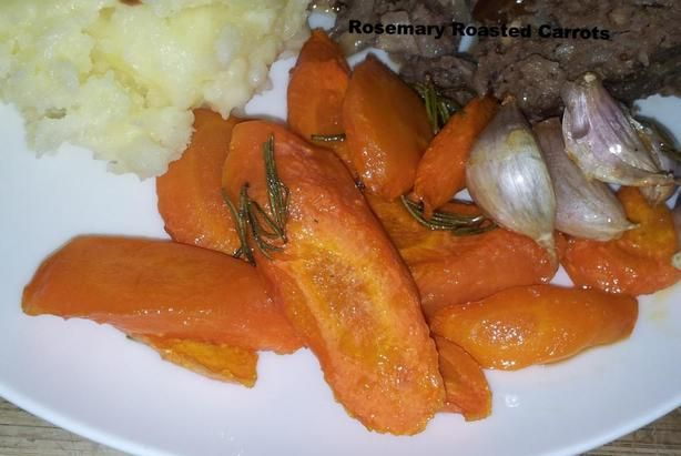 Rosemary-Roasted Carrots | Recipe