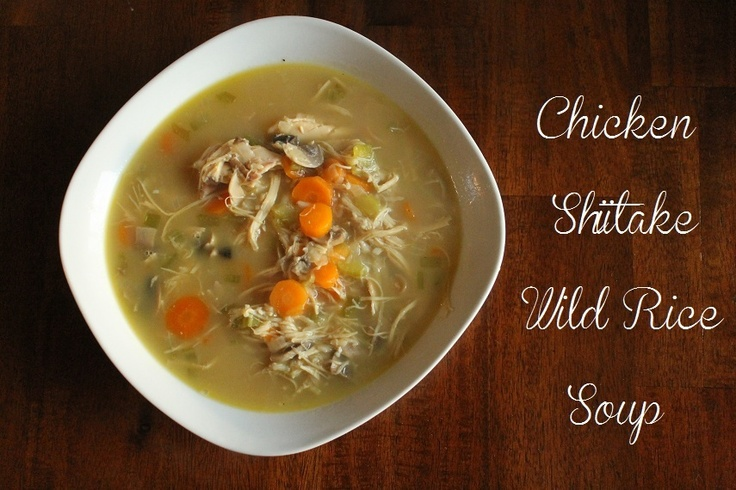 katie j gibson chicken shiitake and wild rice soup