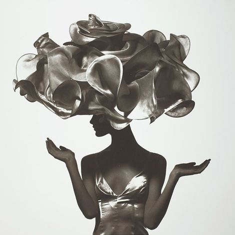 Flower Hat by Philip Treacy