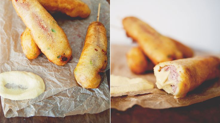 "Jalapeno-Cheese Corn ""Dogs"" Recipe — Dishmaps"