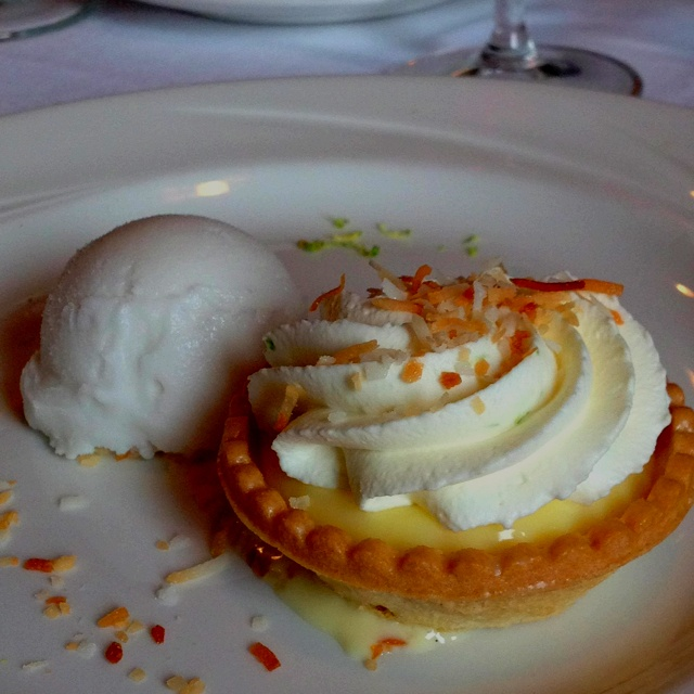 Key Lime Coconut Tarts Coconut Sorbet