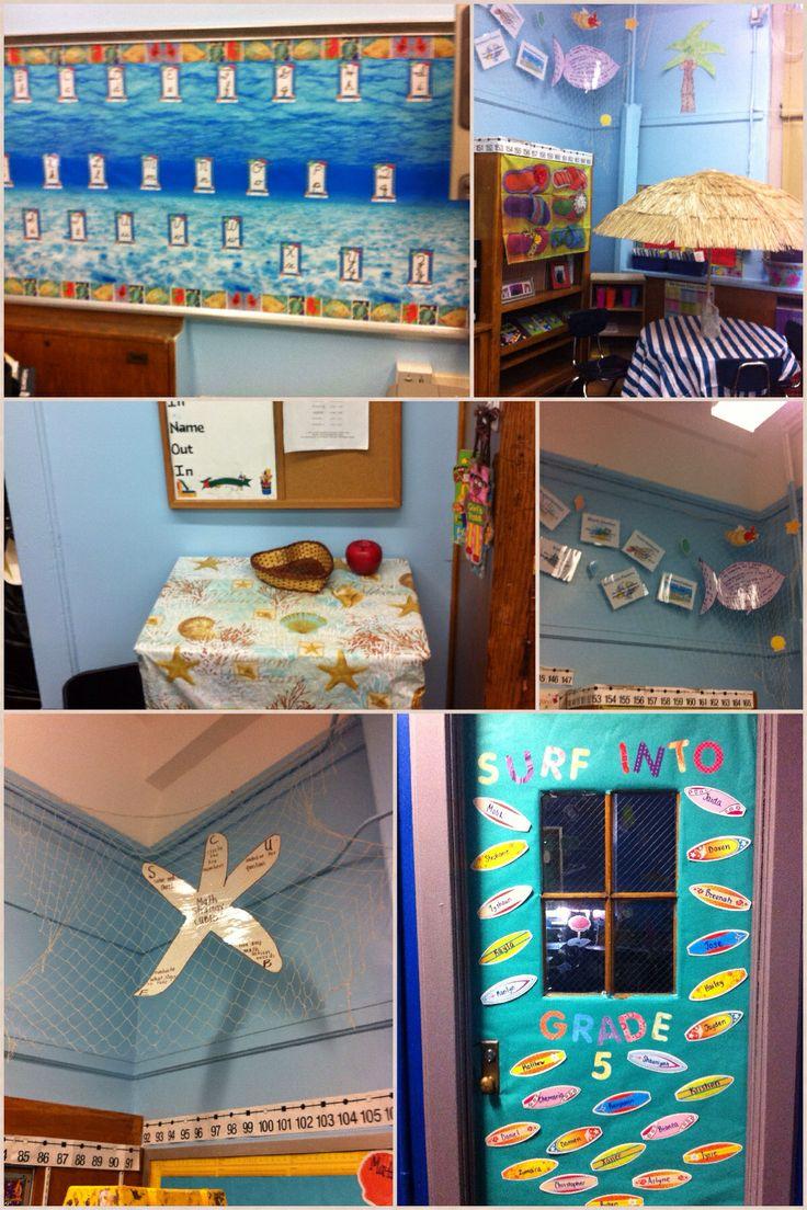 Classroom Beach Decor : Beach theme classroom c pinterest