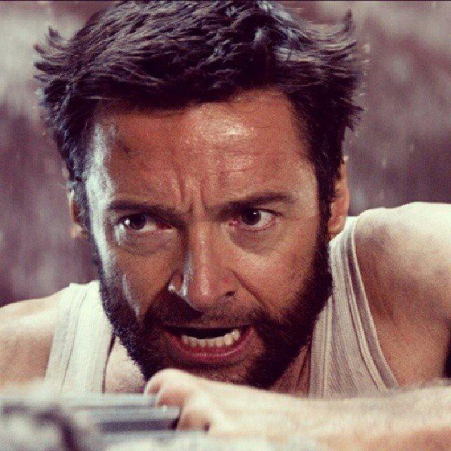 Hugh as Logan in Wolve...