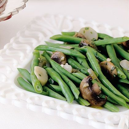 Southern Green Beans - I love water chesnuts