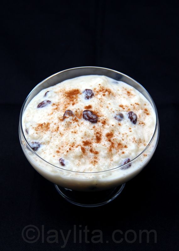 Arroz con leche or rice pudding | Food | Pinterest