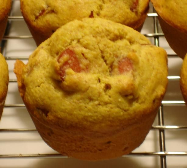 Another version: Corn dog muffins