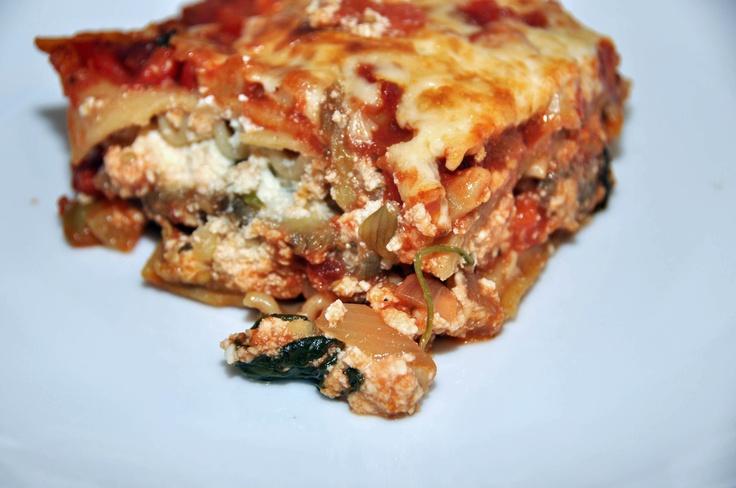 Eggplant Lasagna | Casseroles | Pinterest