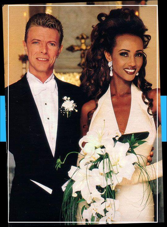 Iman and David Wedding...